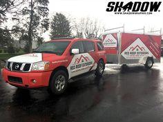 Great matching SUV & Trailer wrap in 3M IJ180C & Avery Dennison GS NA 1380. Thx Shadow Graphix (shadowgraphix.com)