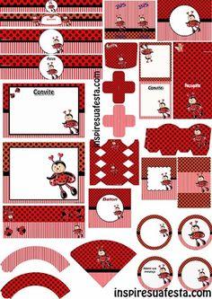 Lovely Ladybugs Free Printable Kit.