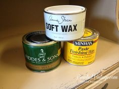 To Wax or Not To Wax Over Chalk Paint?  Good to know!!  I think I am just going to poly over all my remaining pieces.