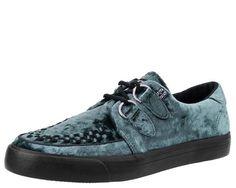 Icy Blue Velvet VLK Sneaker