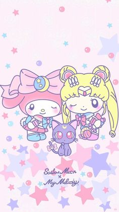 My Melody Wallpaper, Sanrio Wallpaper, Hello Kitty Wallpaper, Kawaii Wallpaper, Sanrio Hello Kitty, Sanrio Characters, Cute Characters, Badtz Maru, Sanrio Danshi