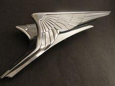 1934 1935 Chrysler Airflow Hood Ornament Mascot | eBay