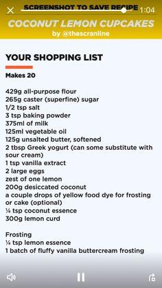 Coconut Lemon Cupcakes Part 1