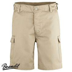 Classic Brandit US Ranger Shorts feature button fly, 6 pockets, 7 belt loops and side waist adjusters for a custom fit. Comfortable and lightweight, these are perfect for various outdoor activities including camping, hiking and travel. Only £19.95! Find out more at Military 1st online store. Free UK delivery and returns!