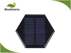 BlueSolaria's mini solar panel is covered with epoxy. This epoxy solar panel adopts high efficient poly solar cell. Mini Solar Panel, Small Solar Panels, Solar Powered Led Lights, Epoxy
