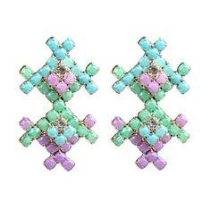 Navajo Ocean Ombre Earrings  - $24.00