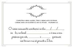 Convites de Casamento para Imprimir – Modelos para Editar – Modelos de Convite