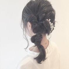 hairarrange②💁 #ヘア#ヘアアレンジ#ハーフアップ#お団子ヘア#ヘアカラー #ヘアセット #ヘアアレンジ動画 #二次会アレンジ##dailylook#japan#selfie#f4f#ootd#love#l4l#follow#instagood#hair#model#make#makeup#hair#haircolor#hairset#hairstyle #hairarrange#me#hairandmakeup