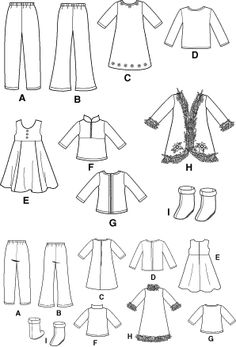 American Girl Clothes Patterns on Pinterest | American Girl Dolls, Ag ...
