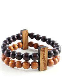 Bracelet brun foncé
