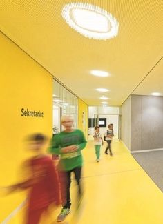 Winners of Colour in Architecture Award 2014 - Seconday School Ergolding | WAN Awards
