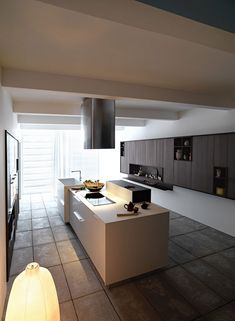 Kitchen Design, Kitchen Remodel Ideas Blower And White Walls As Orange Lighting: Kalea Kitchen Remodel Ideas and Guitar Slink by Italian Man...
