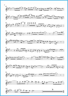 How Deep Is Your Love by Bee Gees music score and playalong (Sheet music and playalong) | Free sheet music for sax  pg2