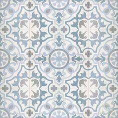 Willa's bath floor: Versailles C14-23-39-24 - moroccan cement tile