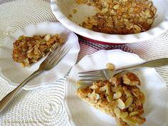 Tarte suédoise aux pommes/caramel