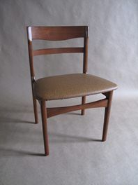 mid century dining chairs (x6)