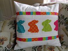 Ameroonie Designs: Bunny Hop Pillow