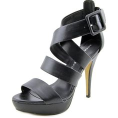 NWT. Black heels NWT. Black Rock & Republic heels. Faux leather. 5 in heel, padded footbed, buckle closure, open toe, very stylish. New, never been worn, still in original box. Rock & Republic Shoes Heels