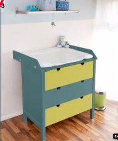 commode repeinte avec peinture pour meuble en bois GripActiv de V33