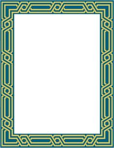 Undangan Pernikahan: Bingkai undangan dan clipart 17 Frame Border Design, Vision Art, Decorative Borders, Borders For Paper, Gaming Wallpapers, Happy Birthday Wishes, Paper Cutting, Picture Frames, Projects To Try