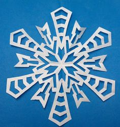 diy directions for every snowflake paper imaginable