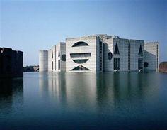 National Assembly, Dhaka, Bangladesh  Louis Kahn
