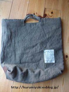 Best 12 Vertical: 38 cm Horizontal: 44 cm Machi: 10 cm Handle: Approximately 35 cm Inside pocket: 1 Outside pocket: None Japanese Bag, Japanese Sewing, Handmade Handbags, Handmade Bags, Diy Bags Purses, Pouch Pattern, Craft Bags, Linen Bag, Denim Bag