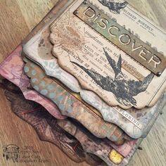 aksbarchitect CREATES : nature's bounty keepsake album – Suzy's Fashion Mini Albums, Mini Album Scrap, Mini Scrapbook Albums, Scrapbook Pages, Scrapbook Quotes, Handmade Journals, Handmade Books, Scrapbook Supplies, Scrapbooking Layouts