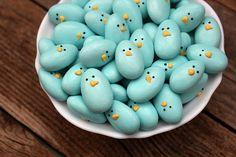 Jordan Almond Bluebirds #cute #kawaii #food #almond #bird #easter