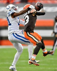All Nfl Teams, Odell Beckham Jr, Indianapolis Colts, Cleveland Browns, Nfl Football, Two By Two, Sports, News, Modern