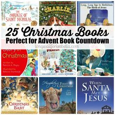 25 Christmas Books Perfect for an Advent Countdown #FCBlogger