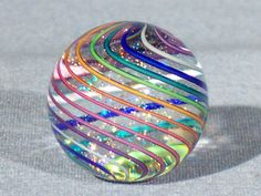 Marbles Hand Made Art Glass James Alloway Marble 1367 95 Inch | eBay