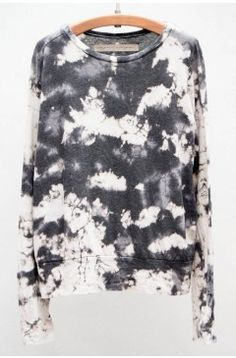 Raquel Allegra Marble Tie Dye Pullover | $200