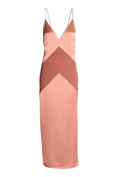 Vestido largo de satén | H&M