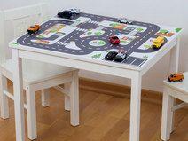 """Kindertisch """"Kleine Stadt"""" für IKEA KRITTER"""
