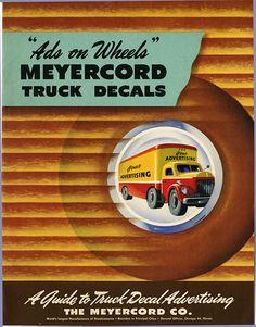 Meyercord Truck DEcals