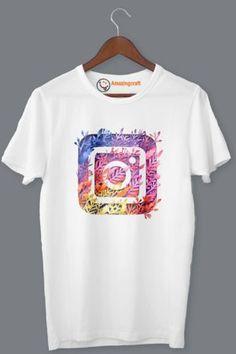White Printed T-Shirt – Amazingcraft Quality T Shirts, Printed, Mens Tops, Fashion, Moda, Fashion Styles, Fashion Illustrations