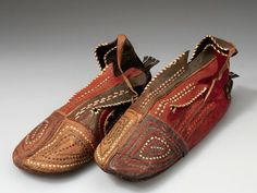 Men's soft leather shoes, 1948 | Africa | Hausa