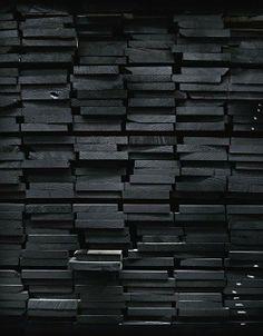 Black wood! love it #design #interiordesign #textureswelove