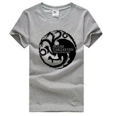 Game of Thrones House Targaryen Three-headed Dragon T-shirts