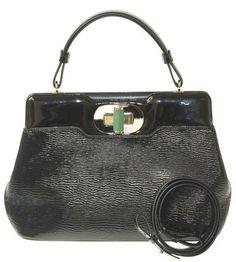 BVLGARI Isabella Rosellini Black Tote Bag $3,610