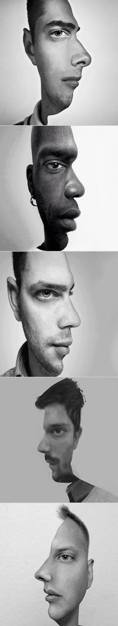 Here are some two-face optical illusions that will blow your mind.