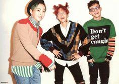 [SCAN] 161101 #EXO-CBX Hey Mama! The 1st Mini Album cr. HUNLIKE_92