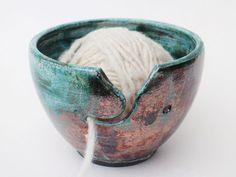 Aus edler Raku Keramik mit grünem und kupfernem Farbspiel habe ich diese…