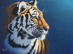 Tiger Blue by Schim Schimmel.