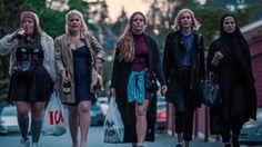"""Serien """"Skam"""" följer russegänget Charlie, Vilde, Eva, Noora och Sana på vidaregående i Oslo."""