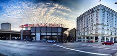 Milwaukee Public Market. Downtown MKE. City Life.
