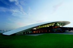Carrasco International Airport in Montevideo, Uruguay Wonderful Places, Great Places, Contemporary Architecture, Architecture Design, Airport Design, Modern Architects, Interesting Buildings, Greatest Adventure, Modern Buildings