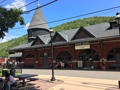 "Make your way to the train station in the enchanting town of Jim Thorpe, which has earned the moniker ""The Switzerland of Pennsylvania."""