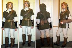 Link Costume, Link Cosplay, Homemade Costumes, Twilight Princess, 4 Kids, Legend Of Zelda, Military Jacket, Halloween Costumes, Winter Jackets